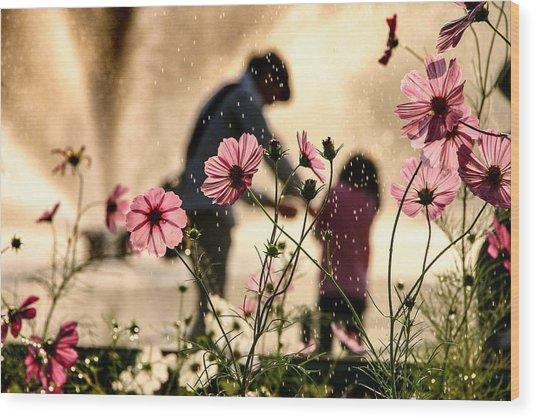 Sight In The Memory Wood Print by Takako Fukaya