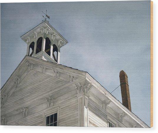Silenced Bell Wood Print