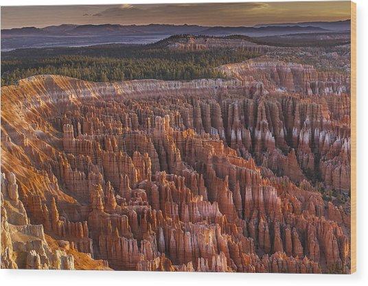 Silent City - Bryce Canyon Wood Print