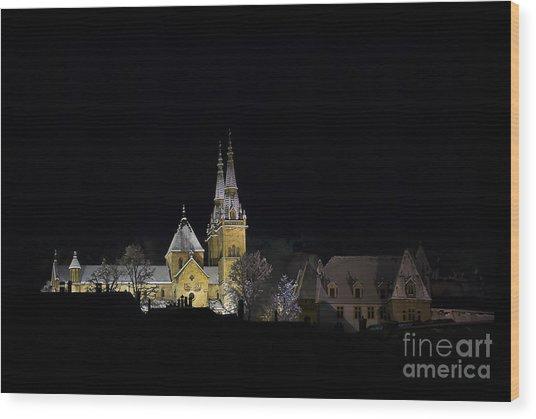 Silent Night Wood Print