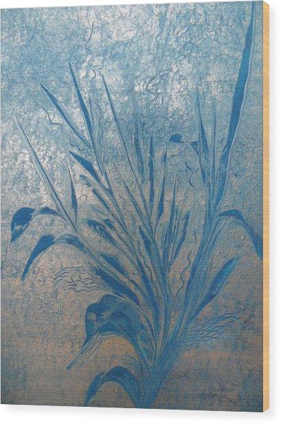 Silver Wood Print by Nico Bielow