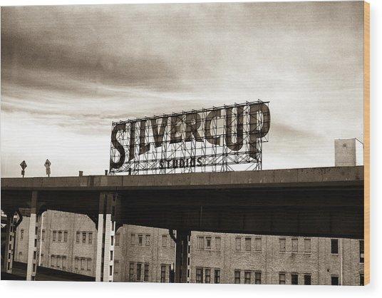 Silvercup Studios Wood Print