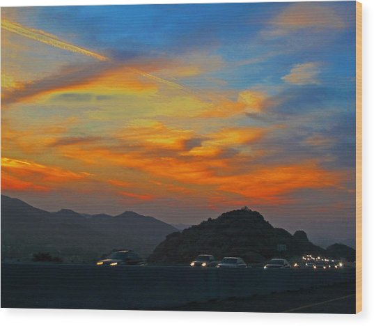 Simi Valley Outbound 1 Wood Print