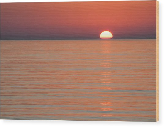 Simply Sunset Wood Print