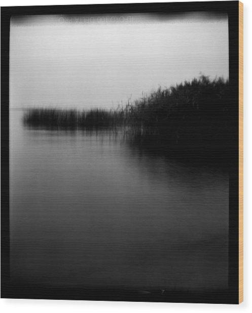 Simulacrum -9.5 Wood Print by Alex Zhul