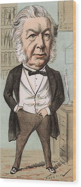 Sir John Elphinstone  Statesman Wood Print by Mary Evans Picture Library