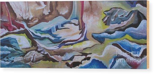 Sirens Wood Print