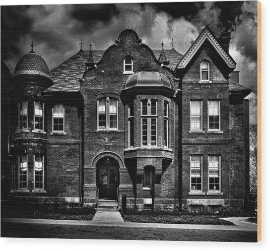 Sisters Of St. Joseph Heritage Building Toronto Canada Wood Print