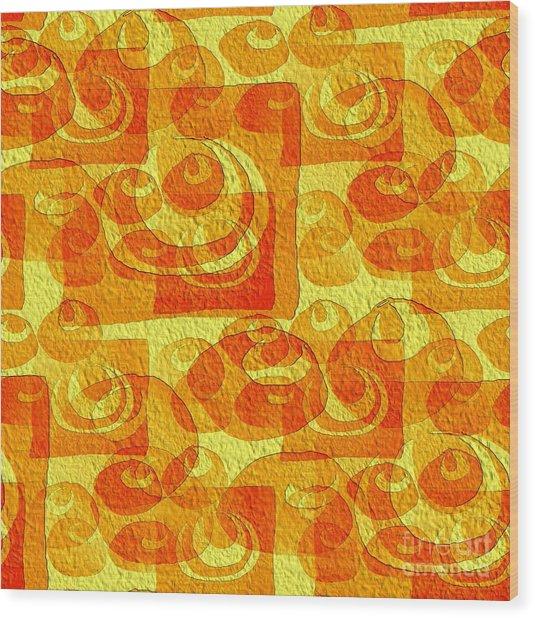 Sixties Memory Wood Print