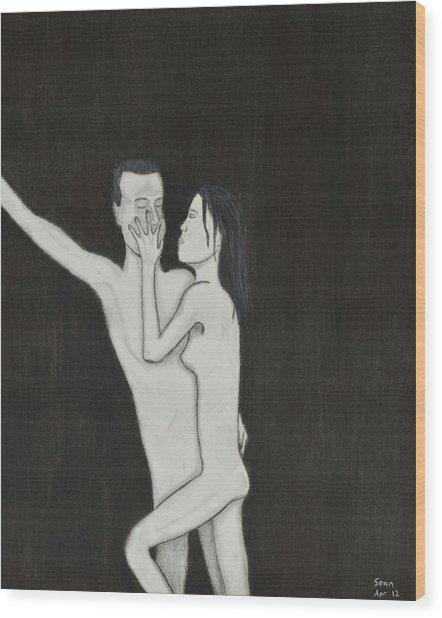 Skinny Love Wood Print by Sean Mitchell
