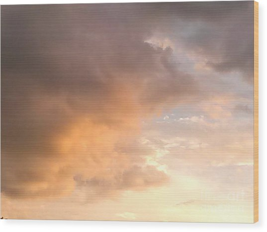 Sky 2 Wood Print