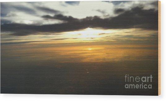 Sky Above Wood Print by Raymond Earley