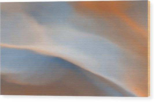 Sky Break 2 Wood Print