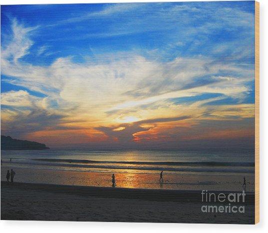 Sky Hues Wood Print