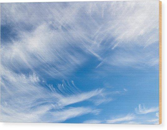 Sky Painting II Wood Print