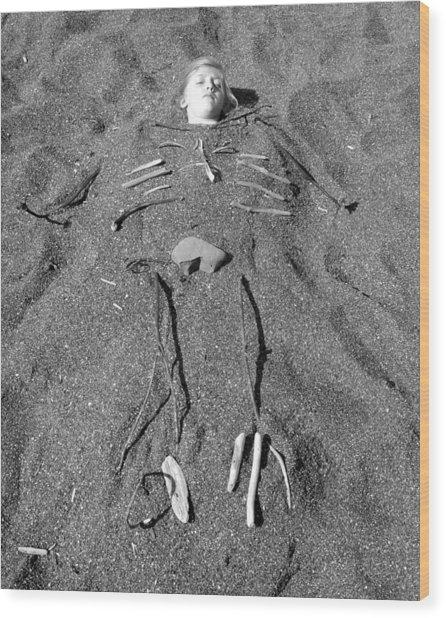 Skye Skeleton Wood Print