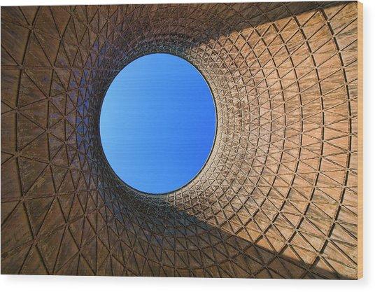 Skyeye Wood Print