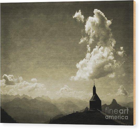 Skyfall Wood Print
