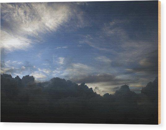 Sky's The Limit Wood Print