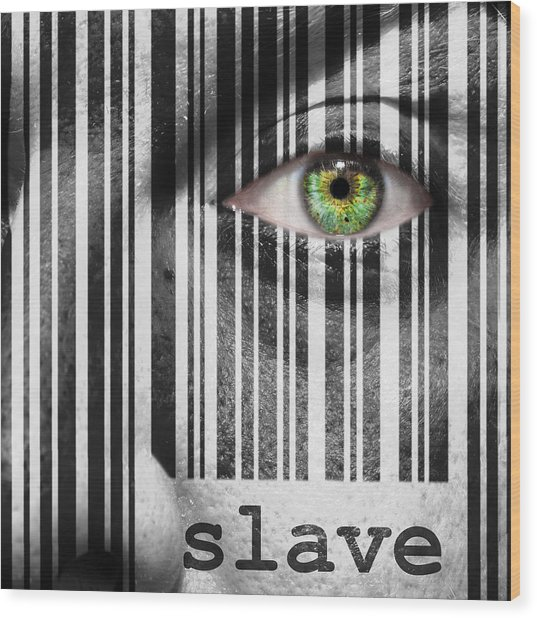 Slave Wood Print