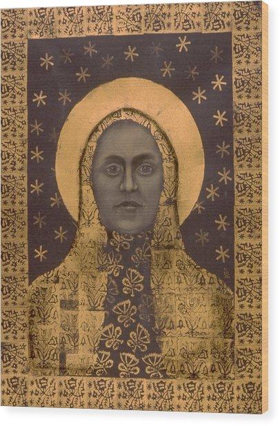 Slavic Mother Goddess Wood Print