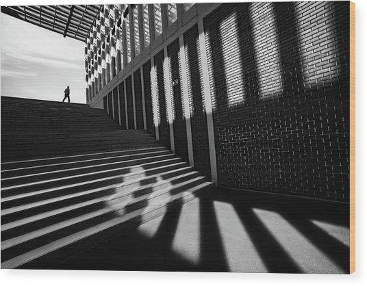 Slides By Wood Print