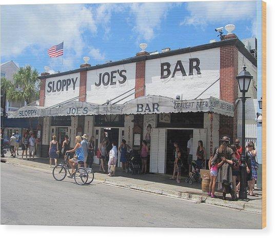 Sloppy Joes Key West 2 Wood Print