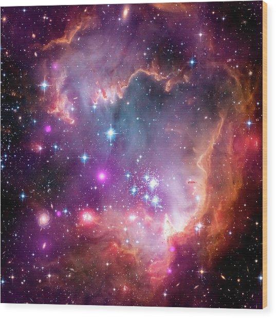 Small Magellanic Cloud Wood Print