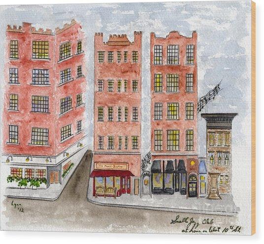 Small's Jazz Club On West 10th Street Wood Print