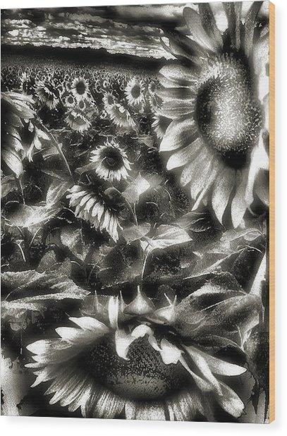 Smilin Atchya Wood Print