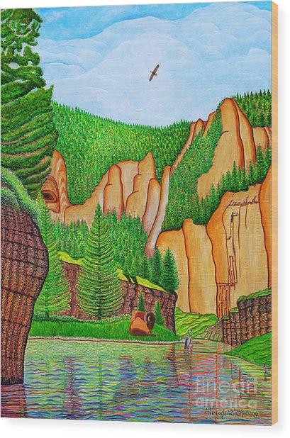 Smith River Montana Wood Print