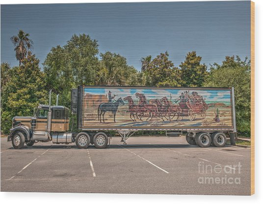 Smokey And The Bandit Wood Print