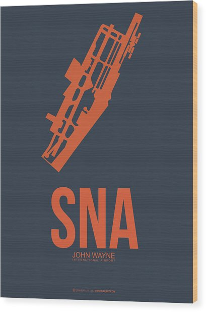 Sna Orange County Airport Poster 1 Wood Print