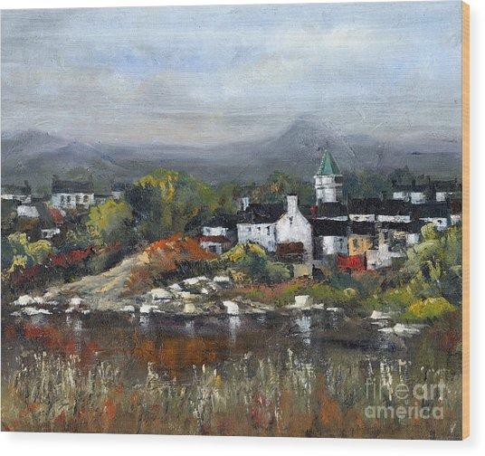 Kerry... Sneem Village  Wood Print