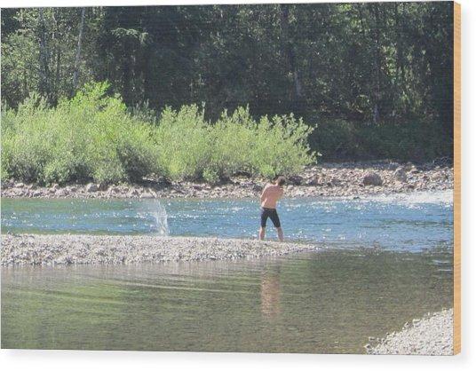 Snoqualmie River 5 Wood Print