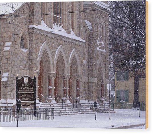 Snow At St. John's Wood Print