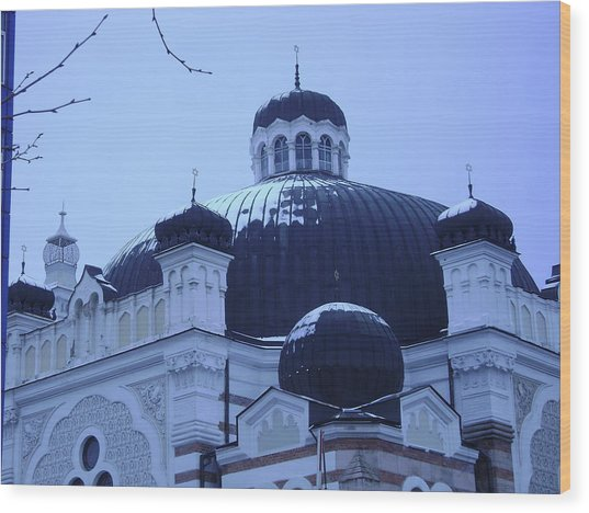 Sofia Synagogue In Bulgaria Wood Print