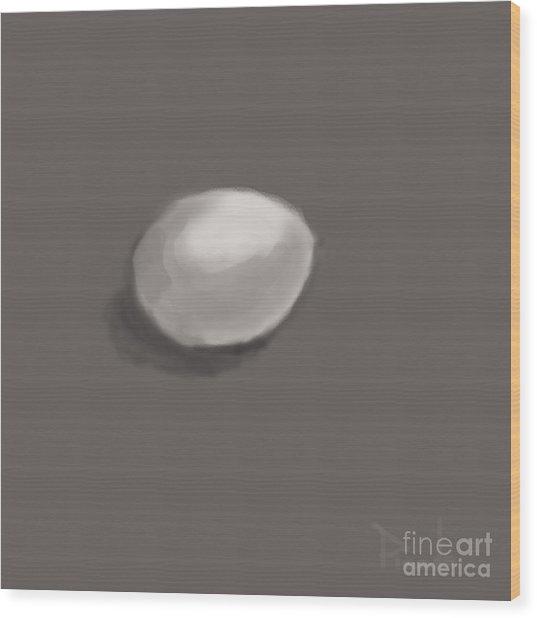 Soft Boiled Wood Print