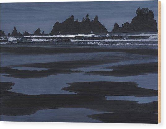 Soft Surf Wood Print