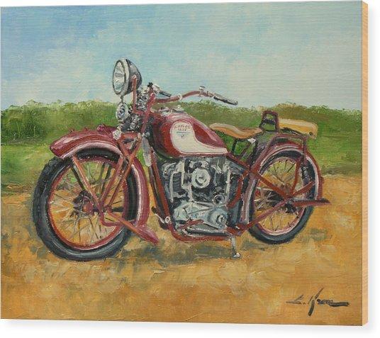 Sokol 1000 - Polish Motorcycle Wood Print