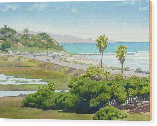 Solana Beach California Wood Print