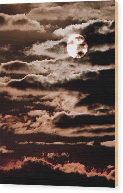 Solar Painter Wood Print