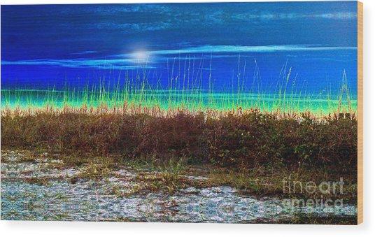 Solar Sky Wood Print