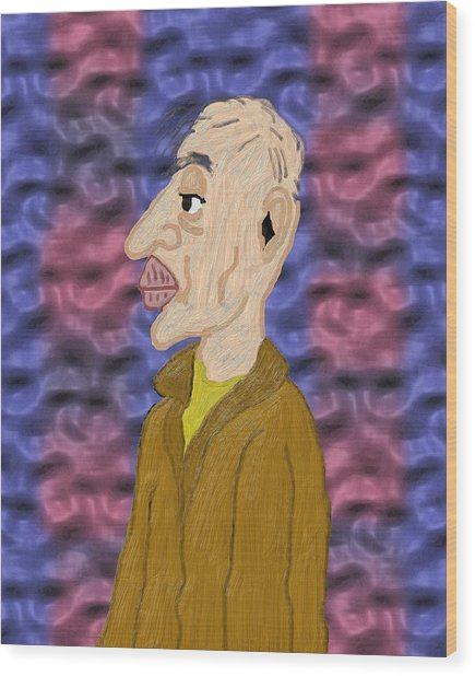 Solitary Twilight Years Wood Print by Pharris Art