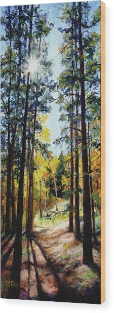 Solitude Wood Print by Mary Giacomini