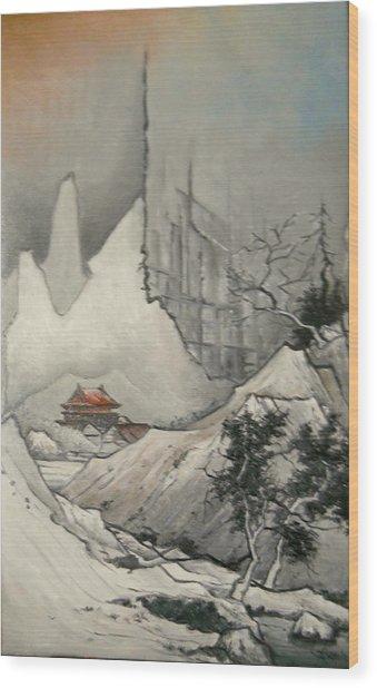 Somewhere In Japan Wood Print
