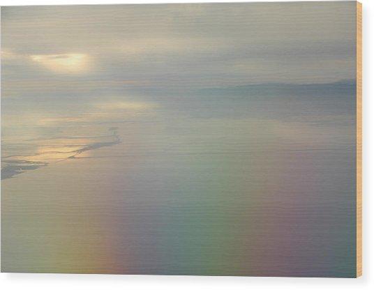 Somewhere Over The Rainbow Wood Print