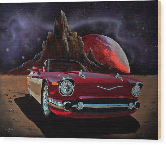 Sonny's Ride Wood Print