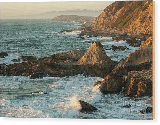 Sonoma Coast 1.7051 Wood Print