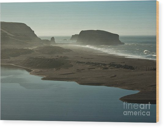 Sonoma Coast 1.7070 Wood Print by Stephen Parker